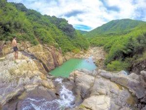hong kong nature four consecutive pools and falls sai kung