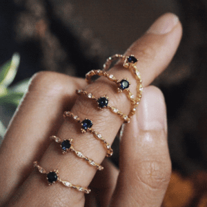 unique engagement rings
