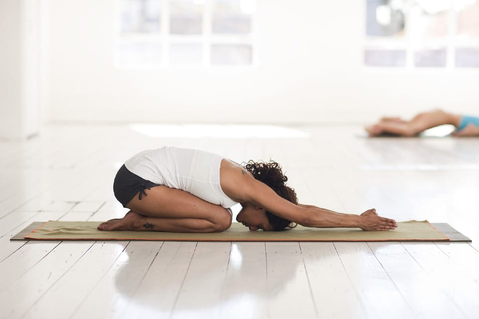 yoga poses before bed to help with sleep