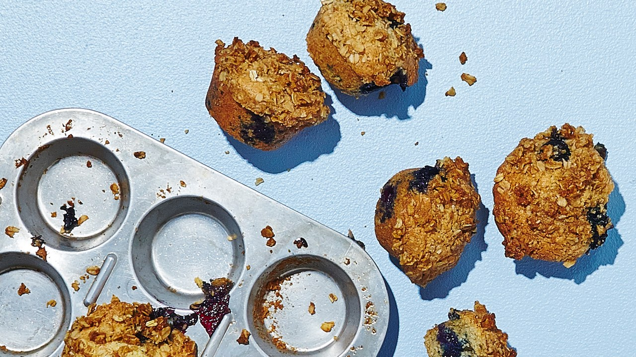 gluten-free desserts blueberry muffins