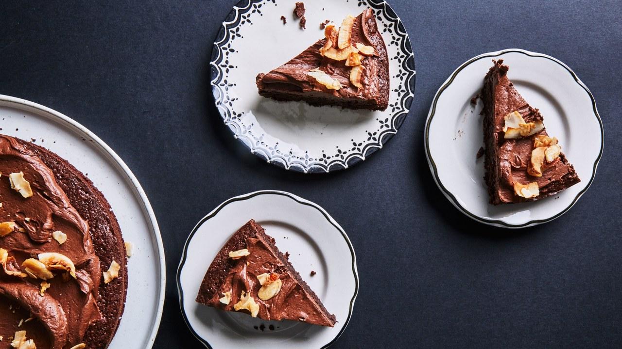 gluten-free desserts chocolate macaroon