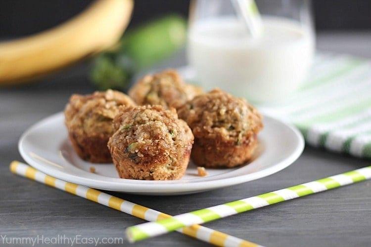 kids recipe banana muffins