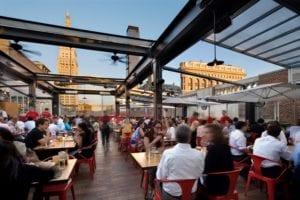 Eataly's Rooftop Bar, La Birreria. Photo: La Birreria