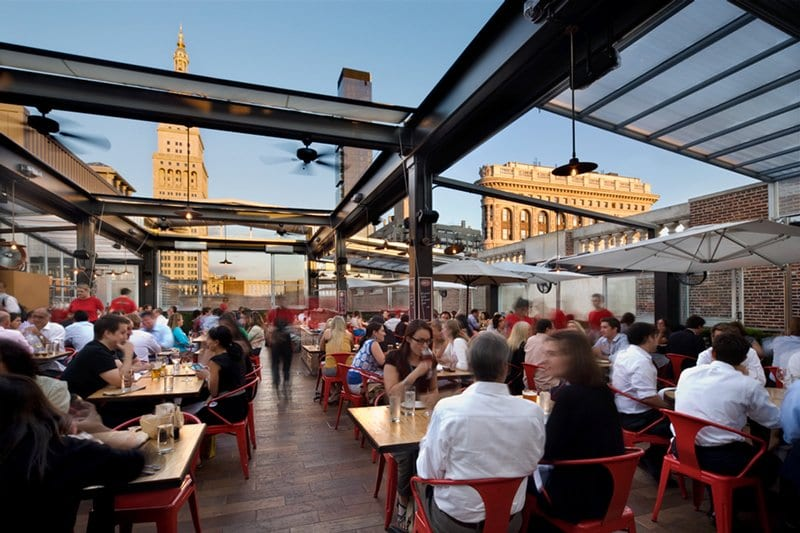 Eataly's Rooftop Bar, La Birreria. Photo: La Birreria