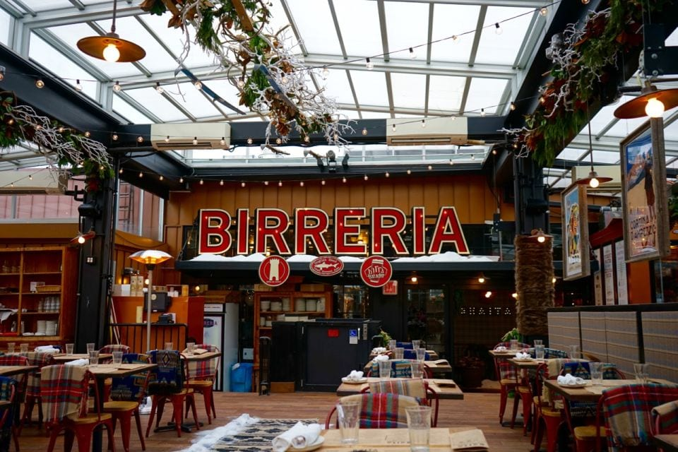 Best Rooftop Bars in NYC - Birreria