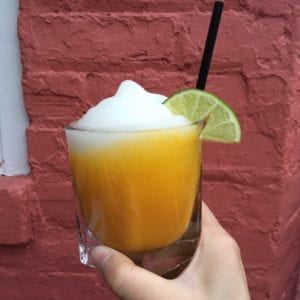 Bottomless Brunch in NYC - Agave Mango Marg