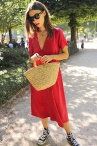 Converse All Star - red dress