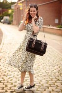 Converse All Star - vintage dress