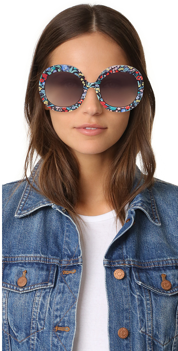Floral Accessories Alice + Olivia sunglasses