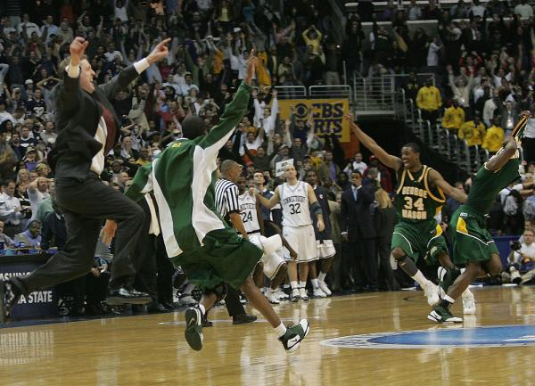 March Madness upsets George Mason University