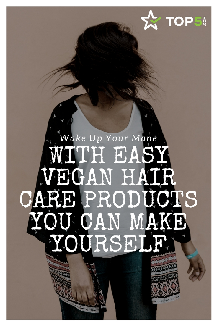vegan hair care Pinterest