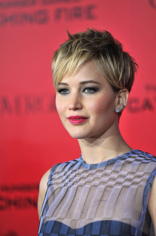 Short Hairstyles Jennifer Lawrence