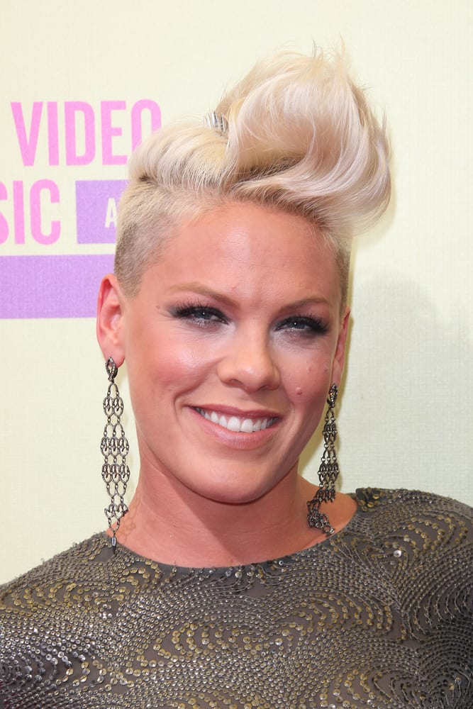 Short Hairstyles Pink