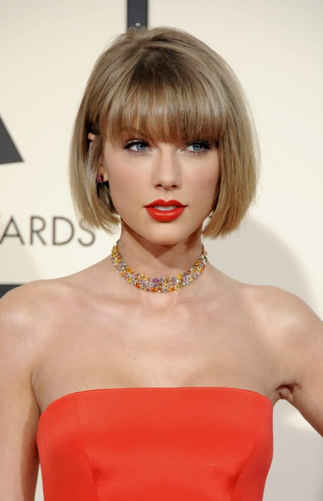 Short Hairstyles Taylor Swift