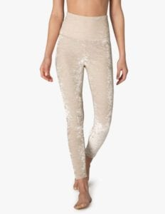 Beyond Yoga's Crushed Velvet Yoga Pants