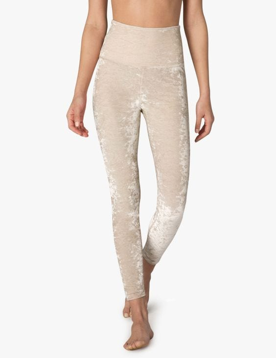 Beyond Yoga Crushed Velvet Yoga Pants
