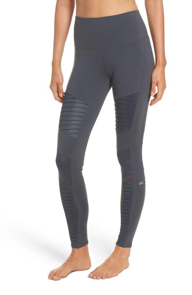 Yoga Pants Alo High Waist Moto Leggings