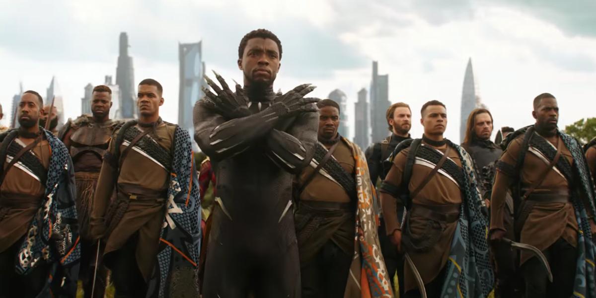 Infinity War Black Panther
