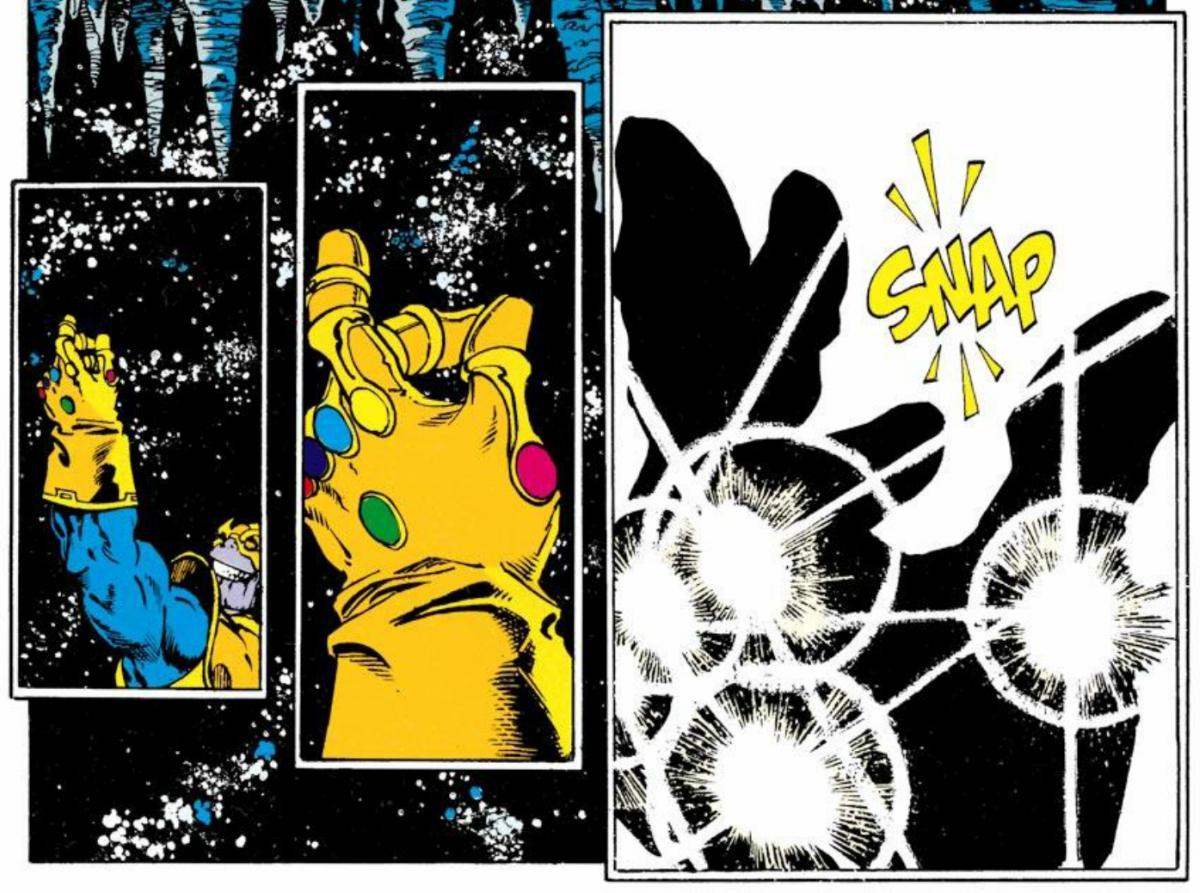 Infinity War Thanos