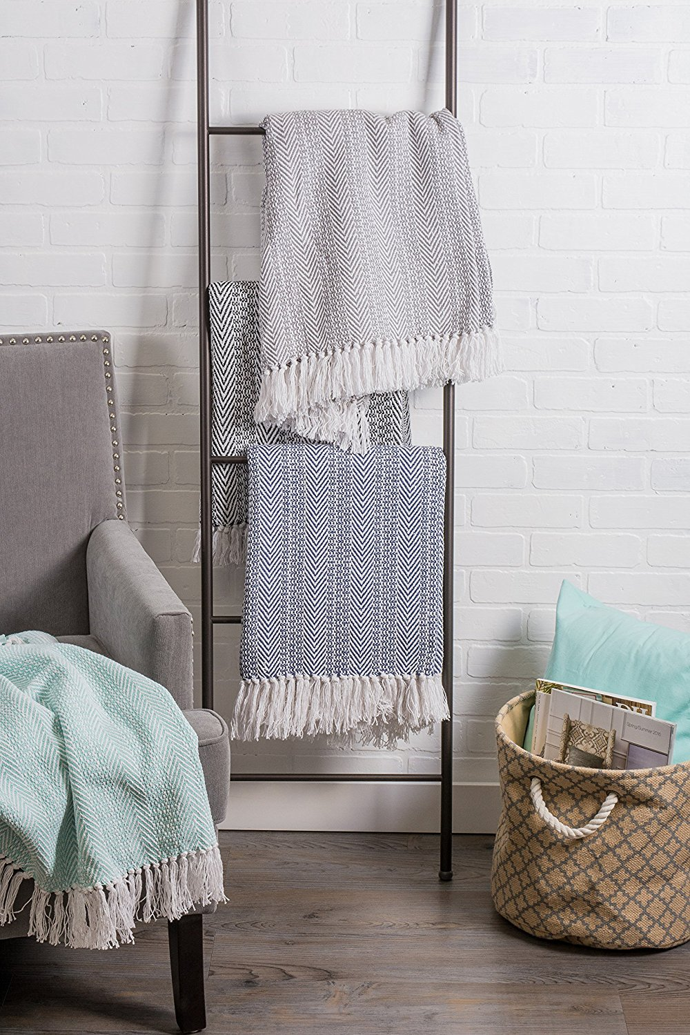 bedroom decoration Rustic Farmhouse Throw Blanket