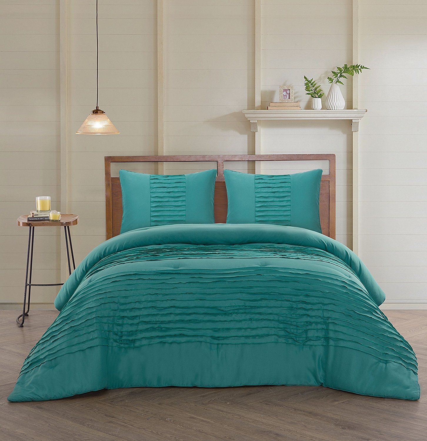 bedroom decoration Teal Duvet Cover Set