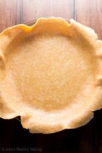Healthy pie homemade whole wheat crust
