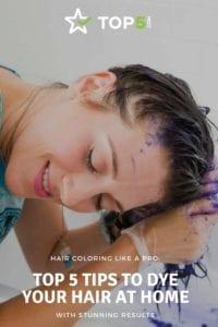 home hair dye - Pinterest