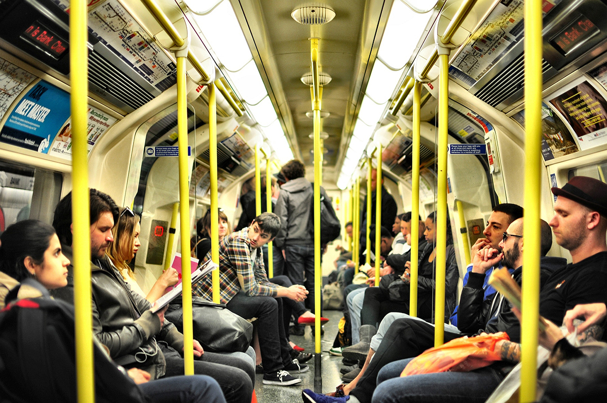 London Tube train