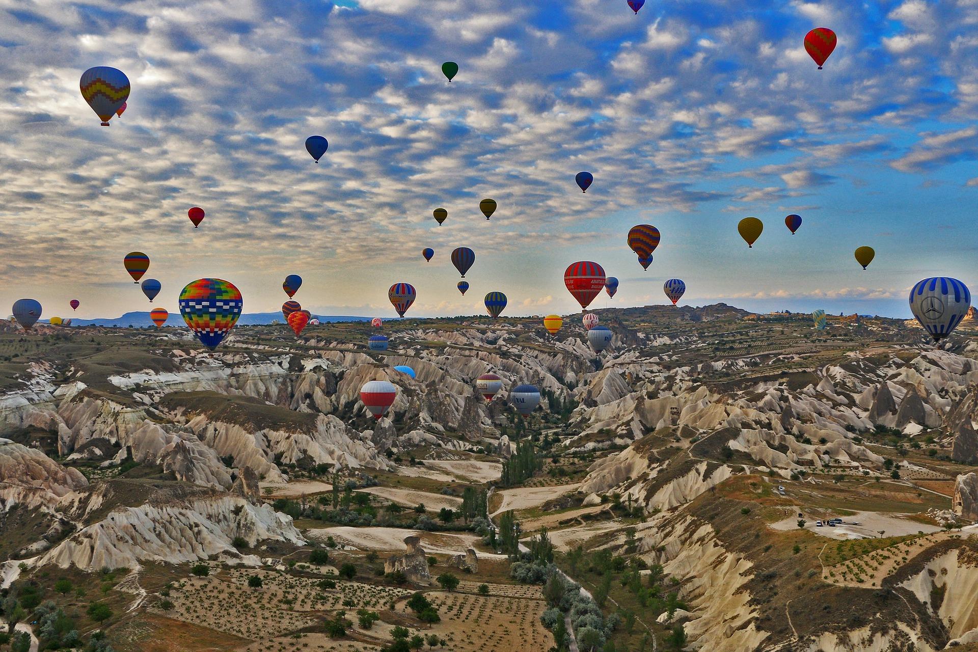 Most beautiful places Cappadocia