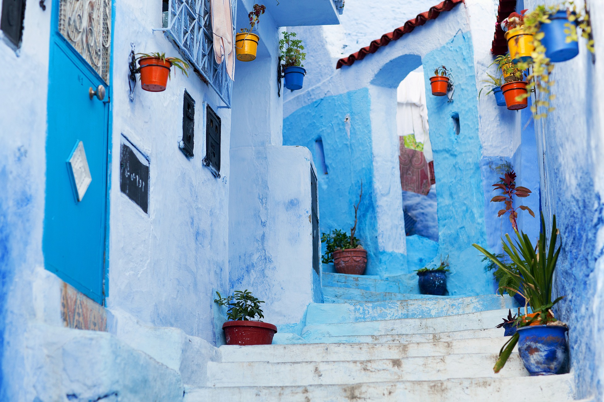 Most beautiful places Chefchaouen