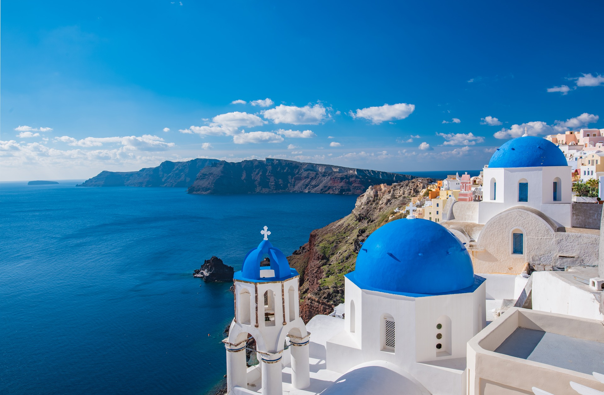 Most beautiful places Greek islands