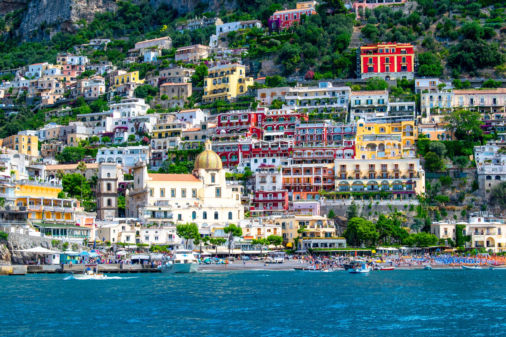 Most beautiful places Positano