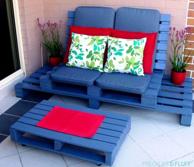 pallet wood projects lounge