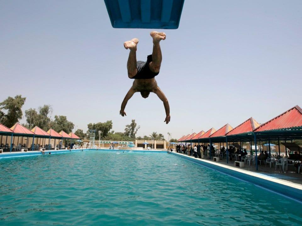 Science Myth Swimming