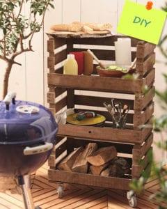 Backyard DIY Auxiliary Drawer