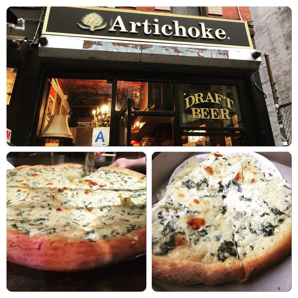 Best Pizza in NYC - Artichoke 2