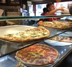 Bleecker Street Pizza Counter