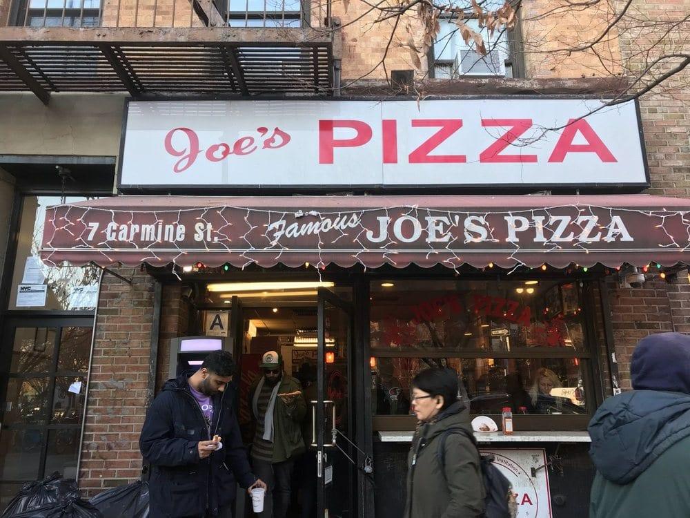 Best Pizza in NYC - Joe's