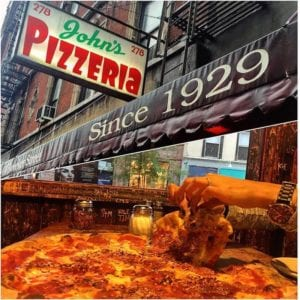 Best Pizza in NYC - John's Pizza