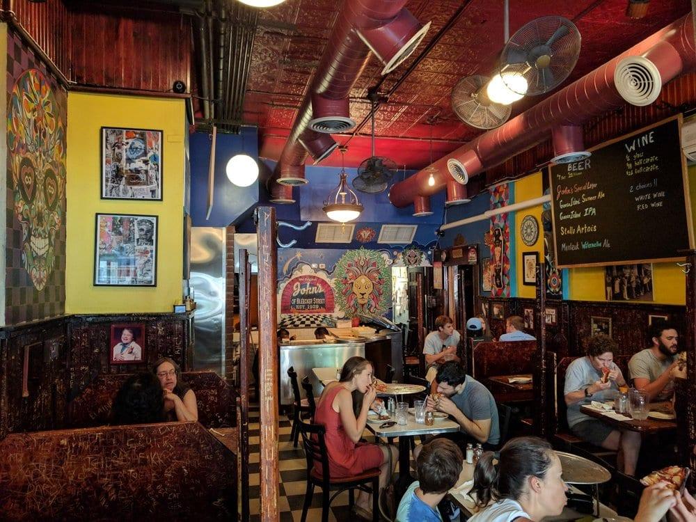 Best Pizza in NYC - John's Interior