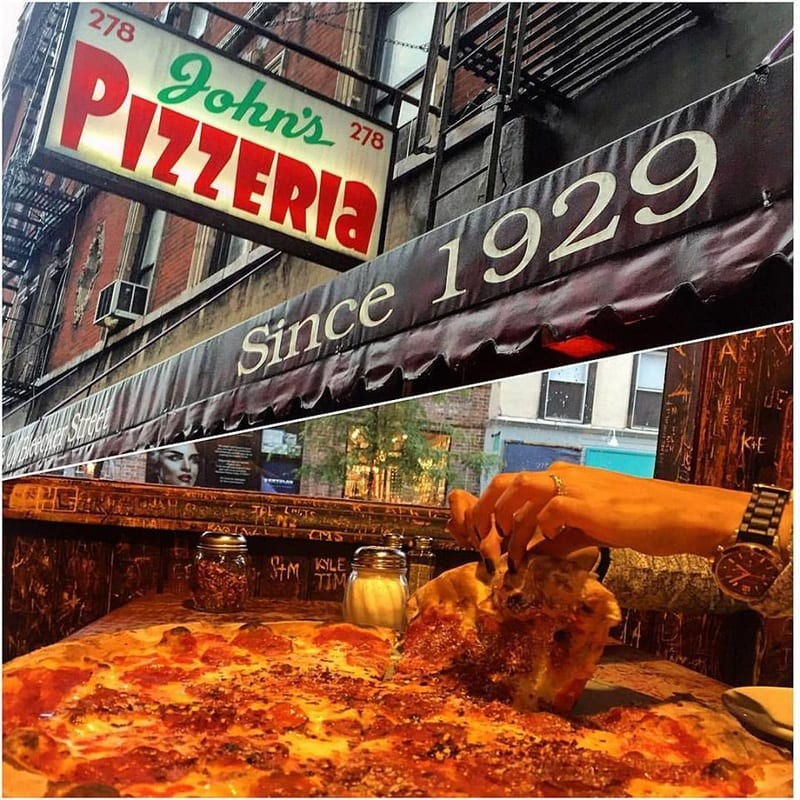 Best Pizza in NYC - John's Pizza