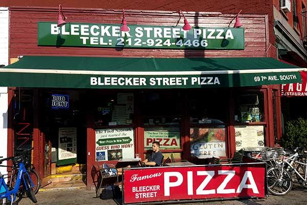 best pizza in nyc Bleecker Street Pizza