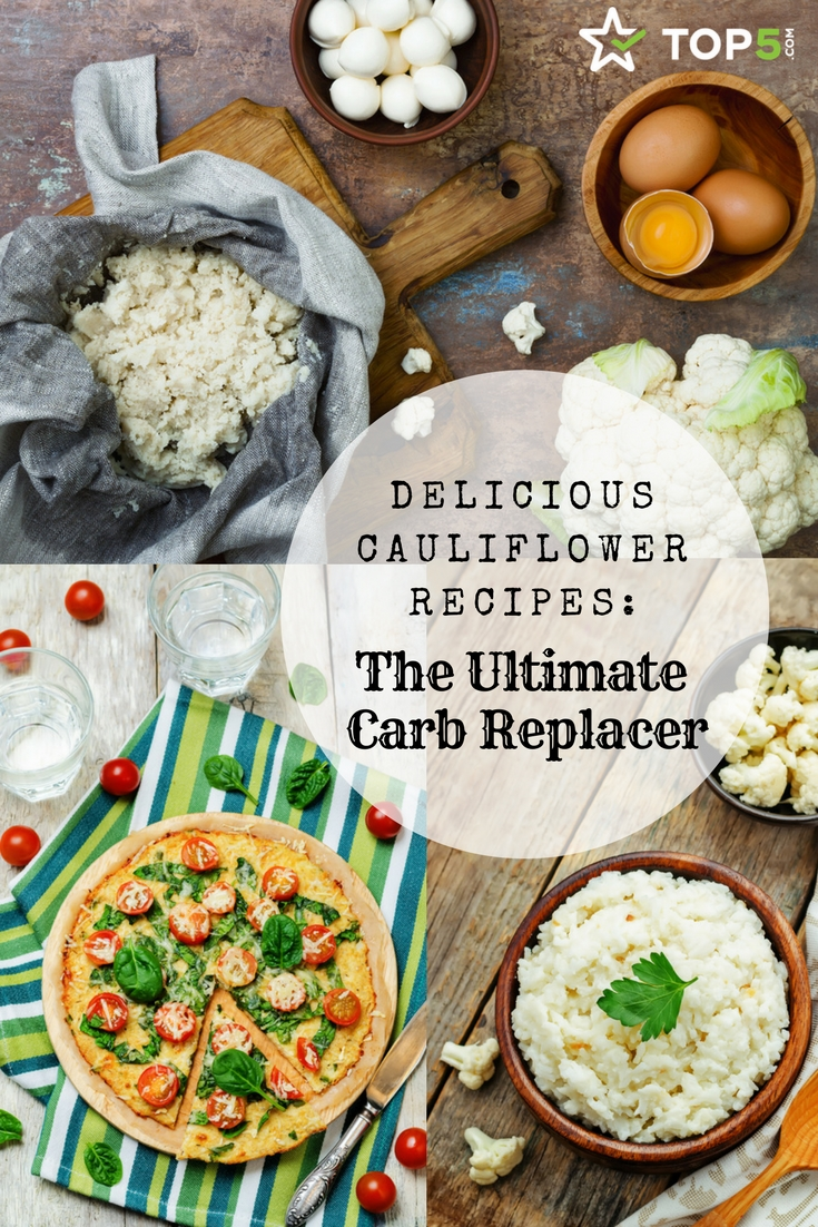 Cauliflower Recipes- Pinterest