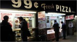 Cheaper in NYC: Pizza
