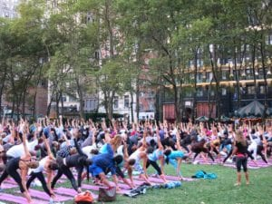 Cheaper in NYC: Yoga