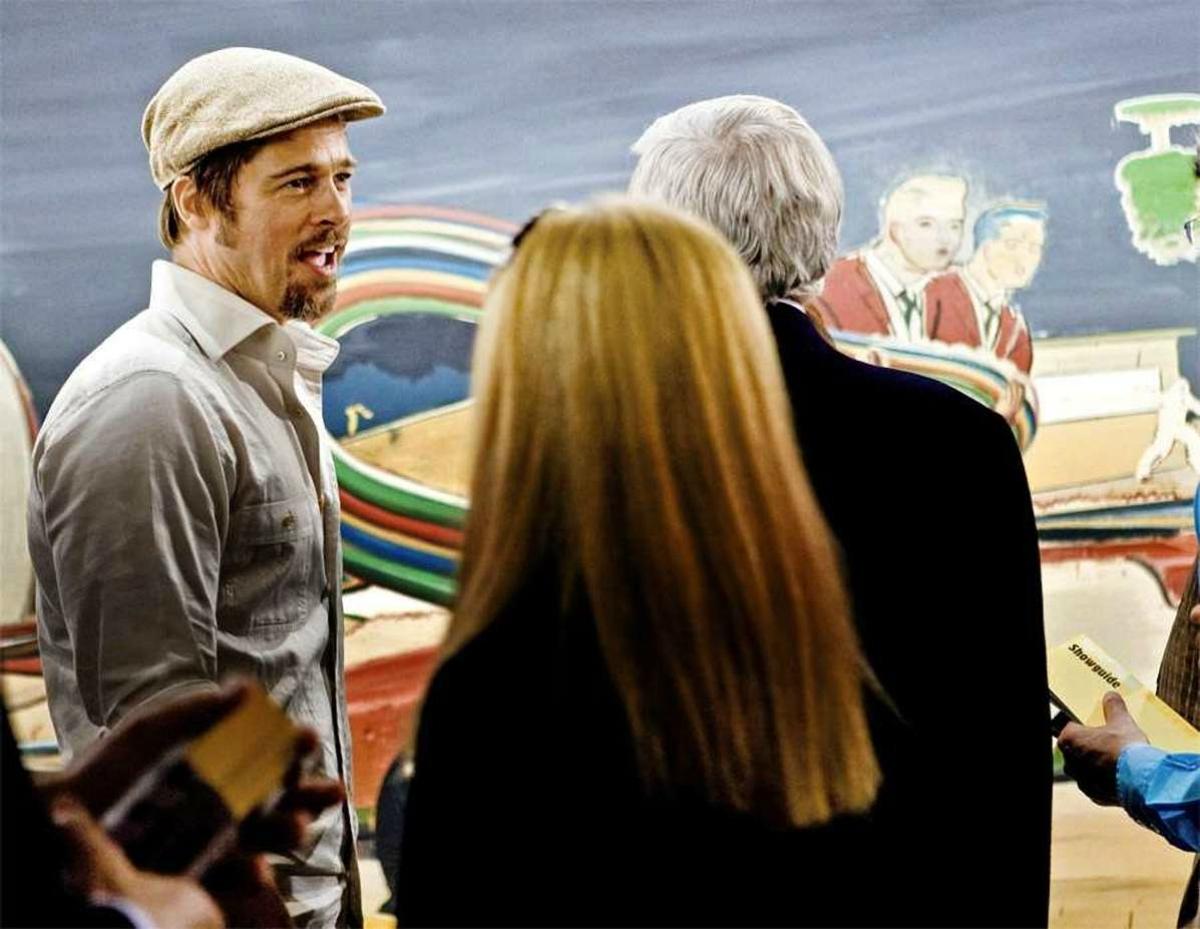 celebrity purchases Brad Pitt