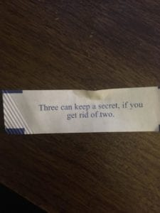Fortune Cookie Fail