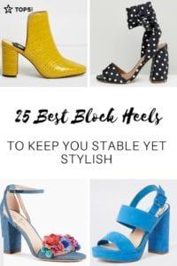 block heels - Pinterest