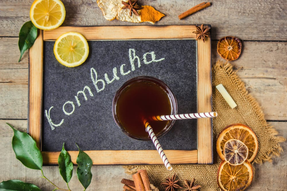Probiotic Foods - Kombucha
