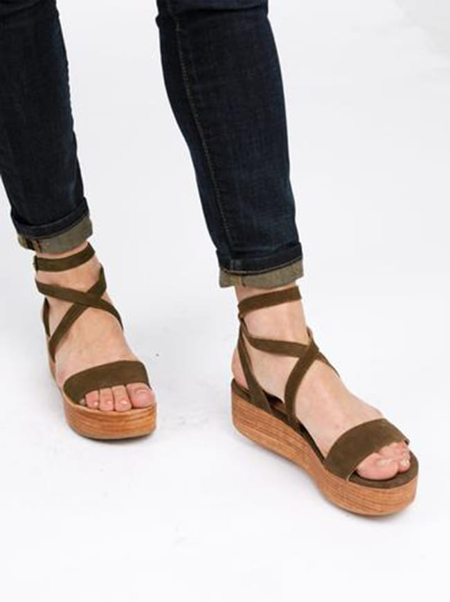 Sustainable Festival Fashion - Platform Sandals
